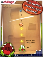 [iPhone] Cut the Rope HD (2014)