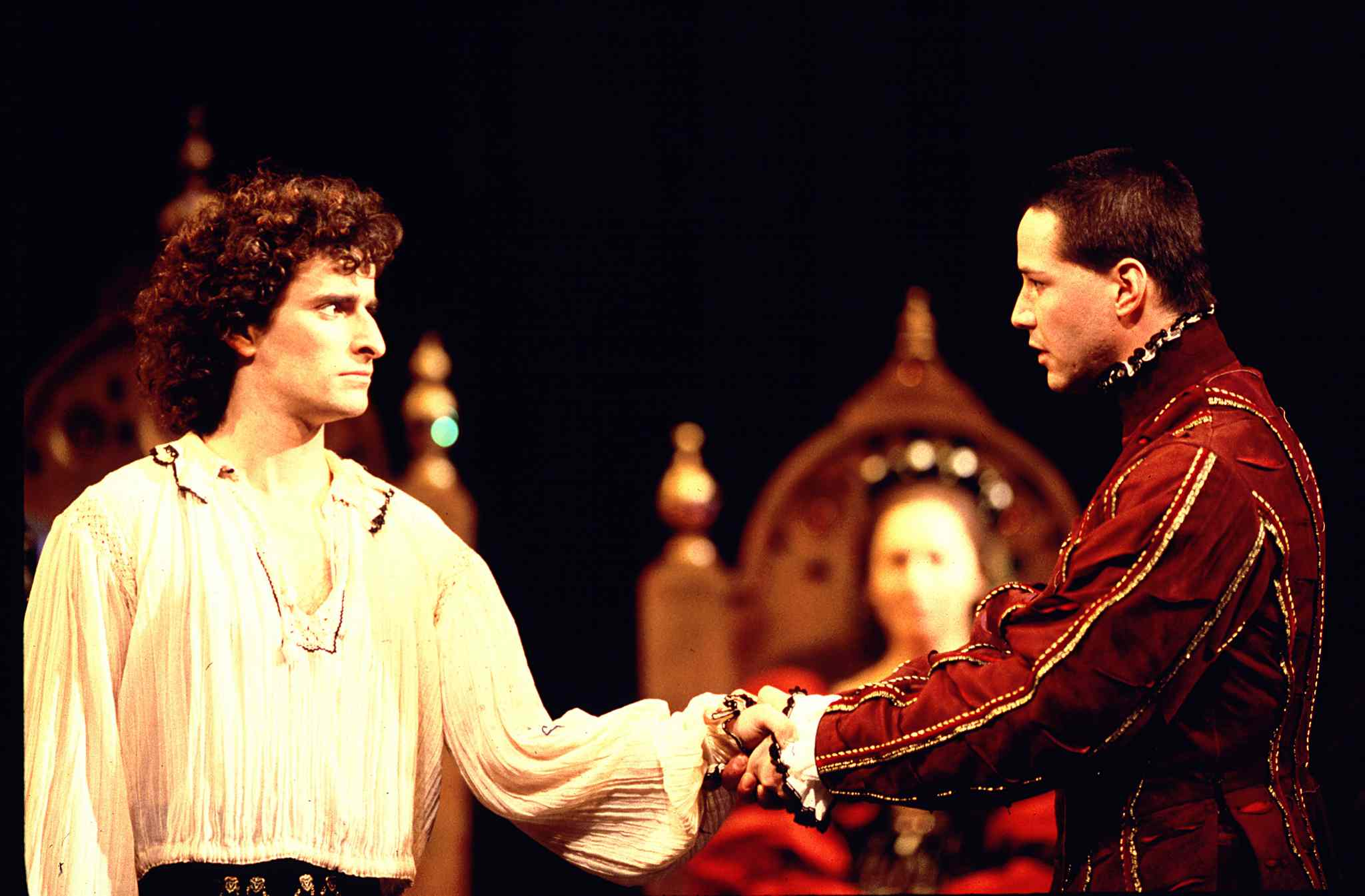 the background information of act i and ii of the play hamlet Enjoying hamlet by william shakespeare act ii act iii act iv act v the background the older hamlet play.
